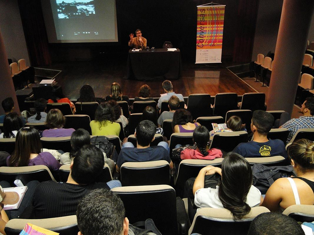 Palestra com André Brasil (MG – Brasil)